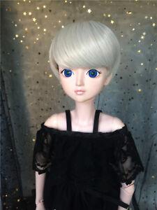 "New 1//4 Girl BJD SD Doll Wig Dollfie 7/"" DZ DOD LUTS Big Baby Bjd Doll Wig"