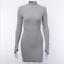 Women-LADY-Turtleneck-Bodycon-Dress-Fashion-Long-Sleeve-Sexy-Party-Mini-Dresses thumbnail 15