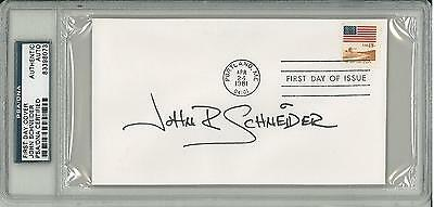 psa/dna John Schneider Signed Authentic Slabbed First Day Cover #83398073