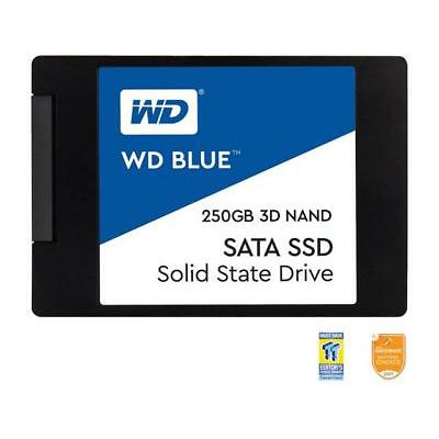 "WD Blue 3D NAND 250GB PC SSD - SATA III 6 Gb/s 2.5""/7mm Solid State Drive - WDS2"