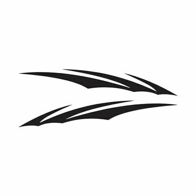 """CLAW RIPPED OTHER Vinyl Decal Sticker-6/"""" Tall White Color"""