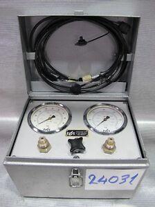 HYDROTECHNIK-Gasdruck-Hydraulik-Druck-Pruefgeraet-Testgeraet-100bar-600bar-24031