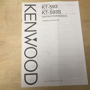 kenwood user manuals