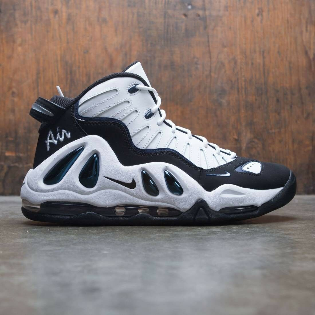 2018 Nike Air Uptempo 97 White College Navy Size 14. 399207-101 Jordan Pippen