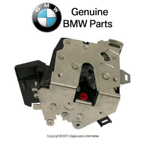 For BMW E38 E39 Rear Passenger Right Door Lock Mechanism Genuine 51228125672