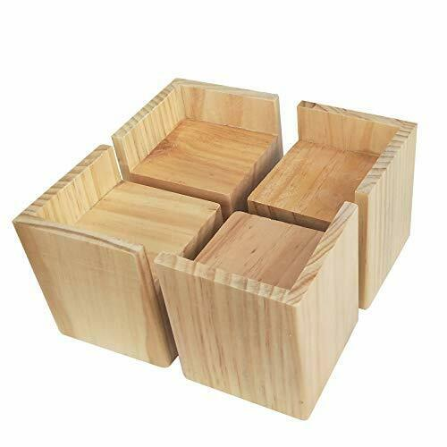 Bed Riser Furniture Lift Frame Risers, Wood Risers For Furniture