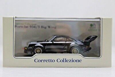 1:43 Kyosho Porsche 934//5 Big Wing 1976 black