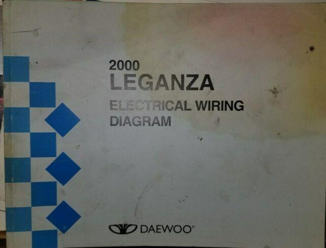 2000 Daewoo Leganza Wiring Diagram Service Manual
