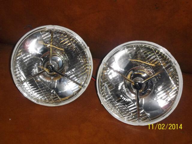 MG Magnette ZA/ZB Tripod halogen headlight conversion.