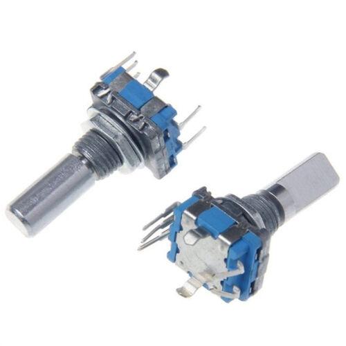 5PCS Rotary Encoder With Switch EC11 Audio Digital Potentiometer Handle WH WYLW