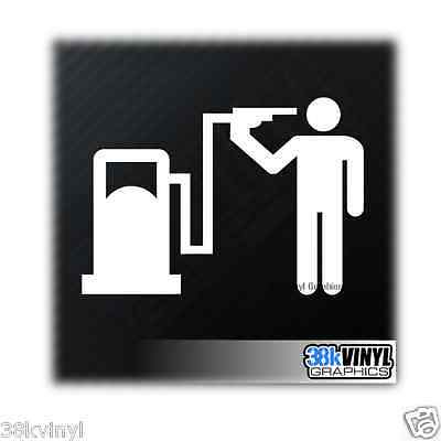 Petrol Head Funny Car/Window/Bumper Drift JDM Euro Dub Decal Sticker