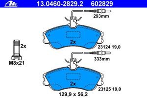 Bremsbelagsatz Frein À Disque-UAT 13.0460-2829.2