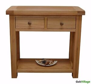 Oak-Console-Table-Oak-Hall-Table-Rustic-Solid-Wood-Telephone-Table-Esher