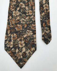 Frame-Floral-Classy-Fancy-Stylish-Silk-Men-039-s-Necktie-Ties-Tie-Neckwear