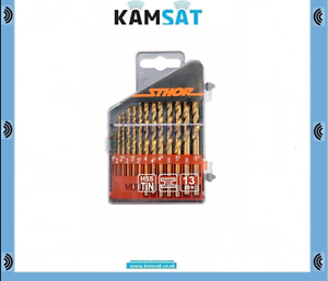 """6.5mm BITS 13 PCS 22300 DRILL BITS FOR METAL TYPE WITH 1//4/"""" Size 1.5mm"""