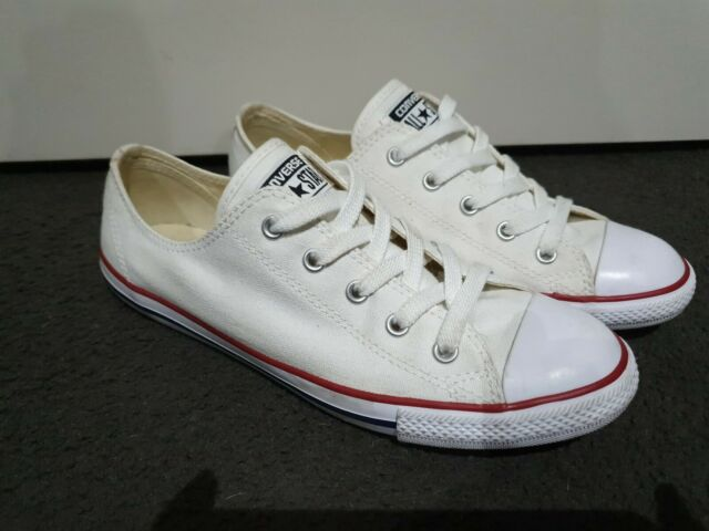 Converse Chuck Taylor All Star Dainty Low Women's Casual Shoe White US Size 8