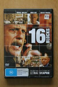 16 Blocks (DVD, 2006)      Preowned (D191)