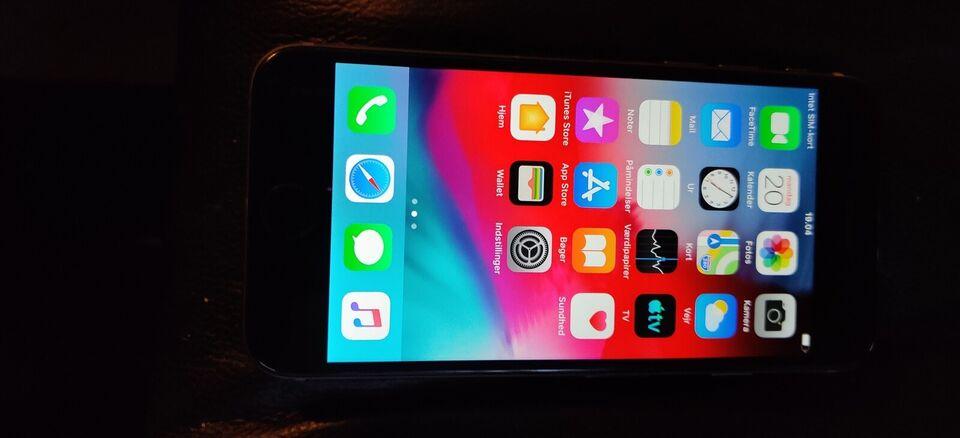 iPhone 6, 32 GB, sort