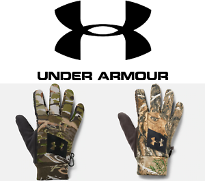 fa6204519bbb2 Under Armour Men's Early Fleece Camo Hunting Gloves - FREE SHIPPING ...