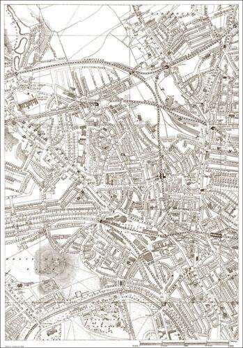 Primrose Hill London 1888 map 6 Kentish Town