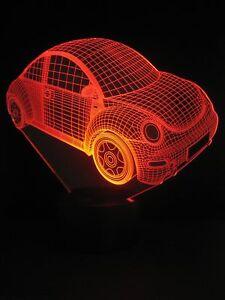 originelle-3D-LED-Lampe-VW-Beetle-Farbwechselleuchte-Wohnlicht