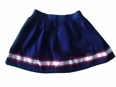 NWT Girl/'s Gymboree Star Spangled Banner July 4th blue elastic skirt ~ 4 6 7 8
