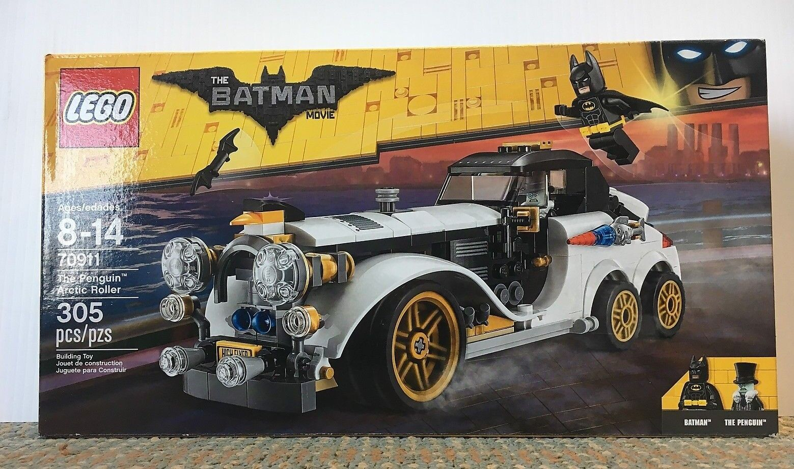 LEGO NIB 70911 The Penguin Arctic Roller The Lego Batman Movie