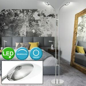 LED Decken Fluter Wohn Ess Schlaf Zimmer Stand Leuchte verstellbar Steh Lampe