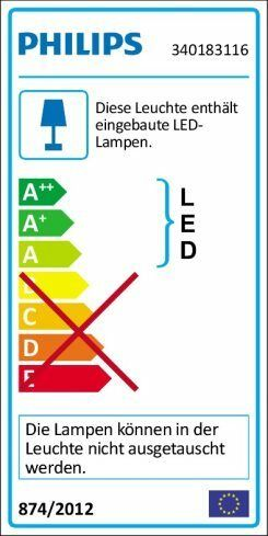 Philips Led-wandleuchte Elements 1-flg. 1-flg. 1-flg. | Günstig