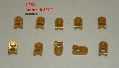 LEGO NEW 1x1 Pearl Gold Plate Round with Handle (10x ...