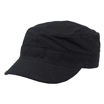 US RANGER ARMY Style BDU Vintage Outdoor Military Mütze cap schwarz black