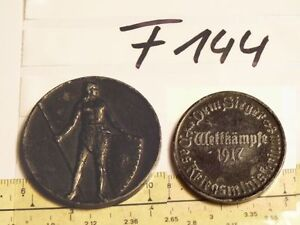 Medaille-1wk-Kriegsministerium-Wettkaempfe-1917-geschwaerzt-neu-F144