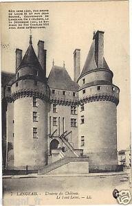 37 - cpa - LANGEAIS - La entrada de la castillo