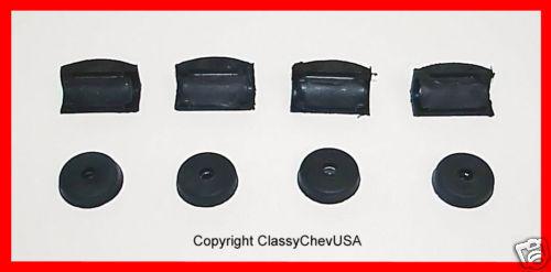 8 Pc #306S 1936 1937 1938 1939 1940 1941 1946 Chevrolet Truck Door Bumper Kit