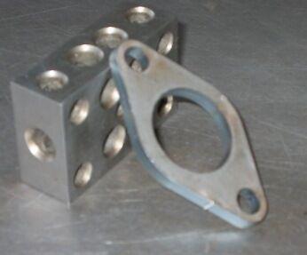 Wastegate Flange Ultra gate 38 1//4 outlet flange