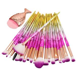 21pcs-Unicorn-Glitter-Makeup-Brushes-Set-Foundation-Blush-Powder-Eyebrow-Brush