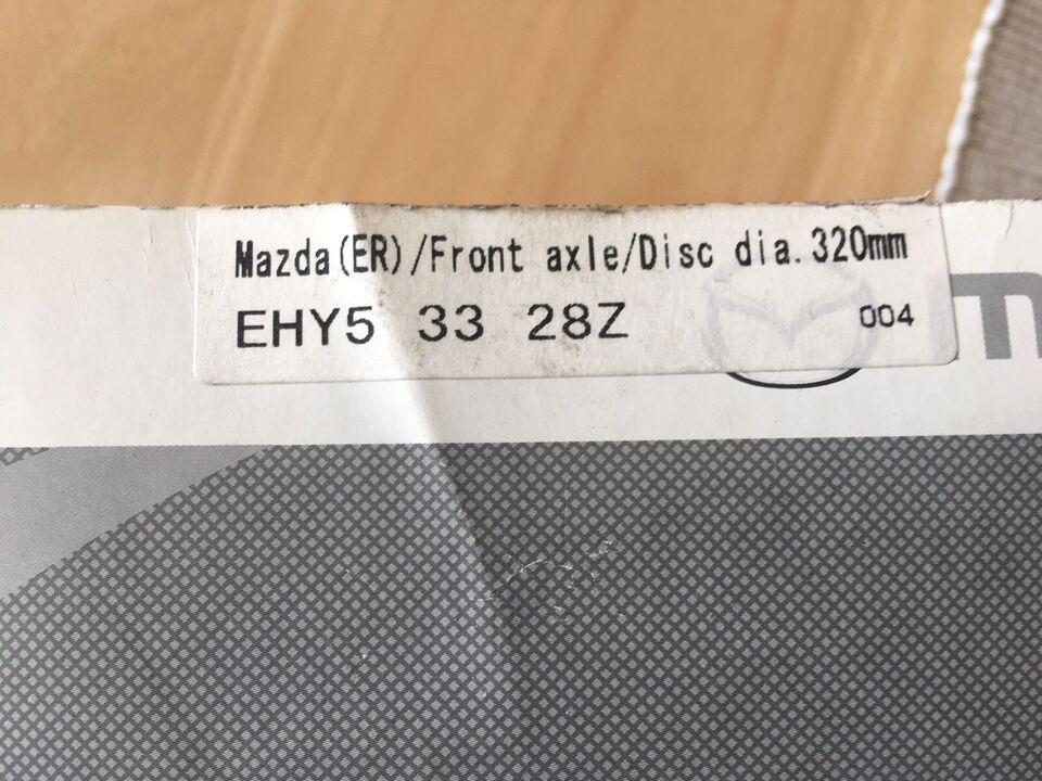 Bremsedele, Bremse klodser , Mazda MAZDA CX-7 (ER)