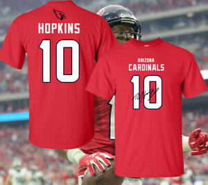 Details about NFL Arizona Cardinals DeAndre Hopkins Signature Style T-Shirt Jersey