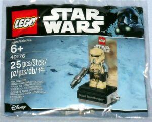 LEGO StarWars 40176 Scarif Stormtrooper New Polybag