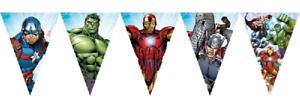Marvel Avengers Plastic Flag Banner 2.3m Long