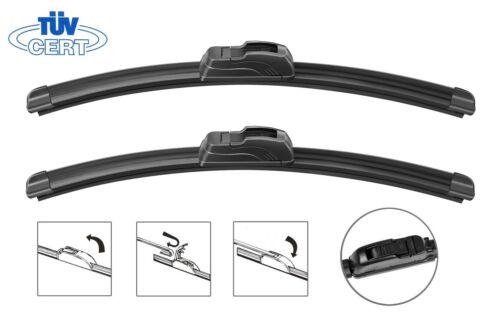 Universal Aero Flat Windscreen Wiper Blade x1 26/'/' TÜV all sizes 16/'/'