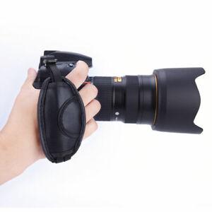 MACCHINA-fotografica-a-mano-polso-Grip-Strap-Holder-per-SLR-DSLR-Canon-Nikon-Sony-Samsung-EOS