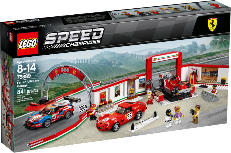 RETIrot  LEGO 75889 Speed Champions Ferrari Ultimate Garage NEW & Sealed box