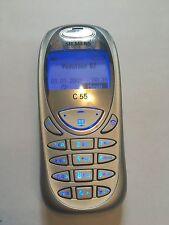 Siemens c55-Argento (Senza SIM-lock) RARE cellulare