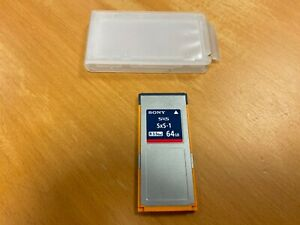 Sony 64GB SxS-1 SBS-64G1B SXS Memory Card with Case