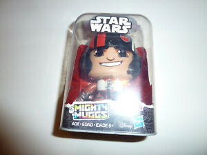 Poe-Dameron-Star-Wars-Mighty-Muggs-vinyl-action-figure-toy-Resistance-pilot-NEW
