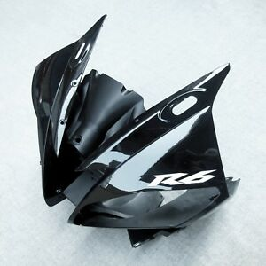 Front-Upper-Fairing-Headlight-Cowl-Nose-Fit-For-Yamaha-YZF-R6-2006-2007-YZF-R6