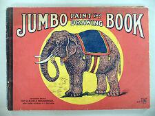 Jumbo Paint and Drawing Book - 1911 -- Saalfield