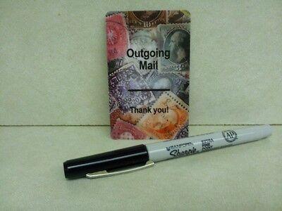 DecoWords Gift Magnet SUPERSTAR  POSTAL CARRIER MAGNET Post Office Mail Post