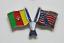 縮圖 16 - PIN'S Insignia FIFA WORLD CUP 1994 Estados Unidos MUNDIAL USA Banderas Futbol